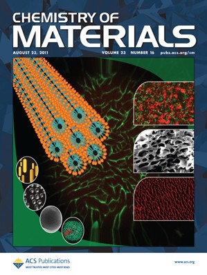 Chemistry of Materials: Volume 23, Issue 16