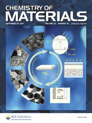 Chemistry of Materials: Volume 23, Issue 18