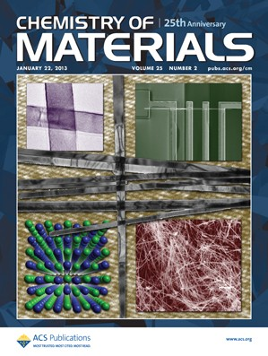 Chemistry of Materials: Volume 25, Issue 2
