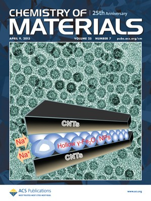 Chemistry of Materials: Volume 25, Issue 7