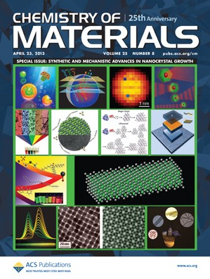 Chemistry of Materials: Volume 25, Issue 8
