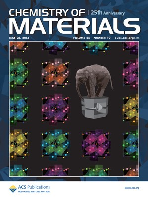 Chemistry of Materials: Volume 25, Issue 10