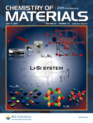 Chemistry of Materials: Volume 25, Issue 13