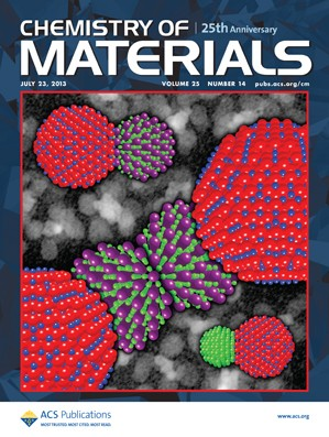 Chemistry of Materials: Volume 25, Issue 14