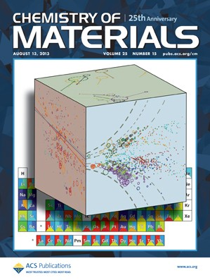 Chemistry of Materials: Volume 25, Issue 15