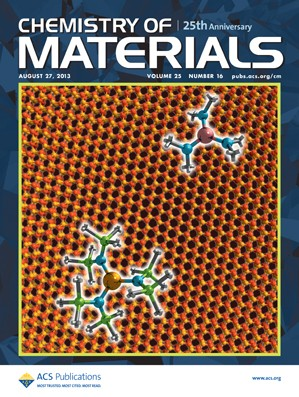 Chemistry of Materials: Volume 25, Issue 16
