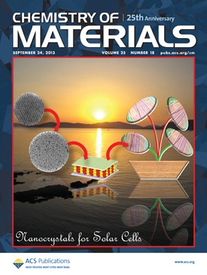 Chemistry of Materials: Volume 25, Issue 18