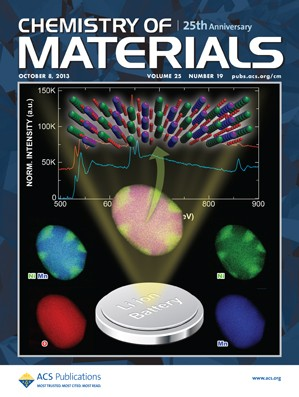 Chemistry of Materials: Volume 25, Issue 19