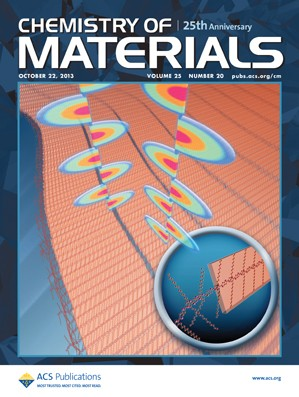 Chemistry of Materials: Volume 25, Issue 20