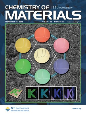 Chemistry of Materials: Volume 25, Issue 22