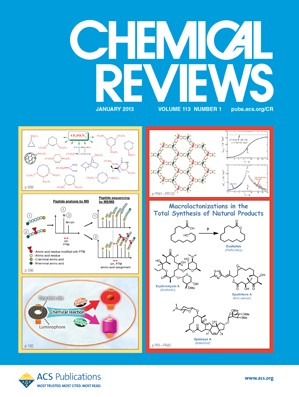 Chemical Reviews: Volume 113, Issue 1