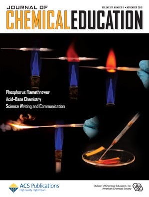 Journal of Chemical Education: Volume 87, Issue 11