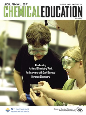 Journal of Chemical Education: Volume 88, Issue 10