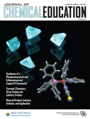 Journal of Chemical Education: Volume 89, Issue 5