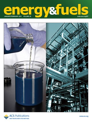 Energy & Fuels: Volume 25, Issue 2
