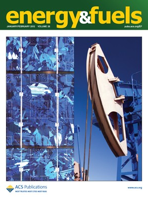 Energy & Fuels: Volume 26, Issue 2
