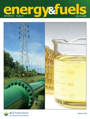 Energy & Fuels: Volume 26, Issue 5