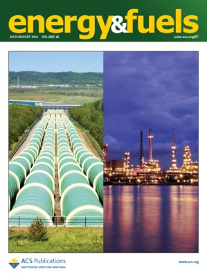 Energy & Fuels: Volume 26, Issue 8
