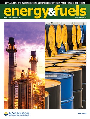 Energy & Fuels: Volume 33, Issue 5