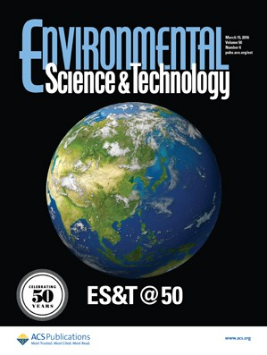 Environmental Science and Technology: Volume 50, Issue 6