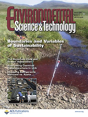 Environmental Science & Technology: Volume 44, Issue 5
