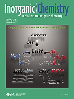 Inorganic Chemistry: Volume 49, Issue 3