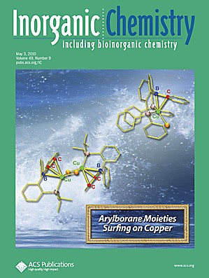 Inorganic Chemistry: Volume 49, Issue 9
