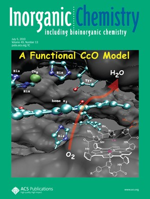 Inorganic Chemistry: Volume 49, Issue 13