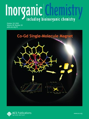 Inorganic Chemistry: Volume 49, Issue 20