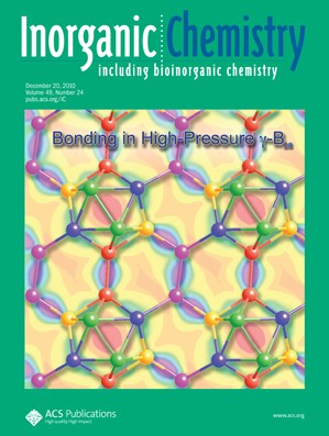 Inorganic Chemistry: Volume 49, Issue 24