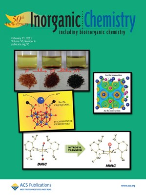 Inorganic Chemistry: Volume 50, Issue 4