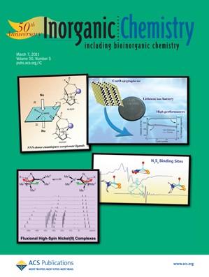 Inorganic Chemistry: Volume 50, Issue 5