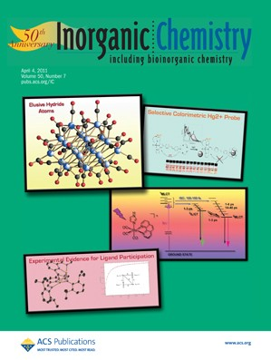 Inorganic Chemistry: Volume 50, Issue 7