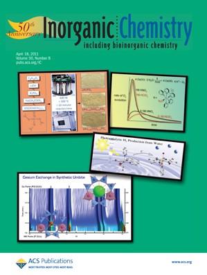 Inorganic Chemistry: Volume 50, Issue 8