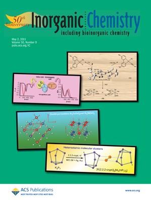 Inorganic Chemistry: Volume 50, Issue 9