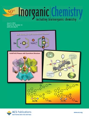 Inorganic Chemistry: Volume 50, Issue 11