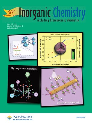 Inorganic Chemistry: Volume 50, Issue 12