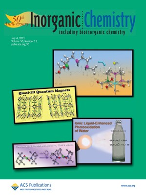 Inorganic Chemistry: Volume 50, Issue 13