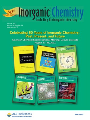 Inorganic Chemistry: Volume 50, Issue 14
