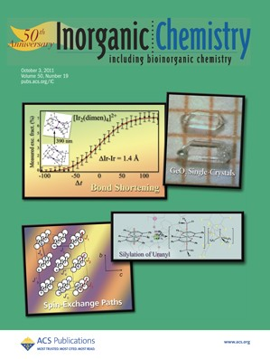 Inorganic Chemistry: Volume 50, Issue 19