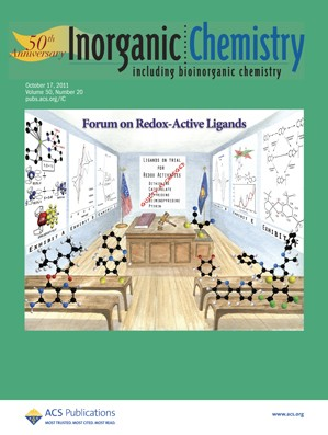 Inorganic Chemistry: Volume 50, Issue 20