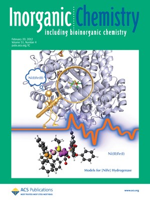Inorganic Chemistry: Volume 51, Issue 4