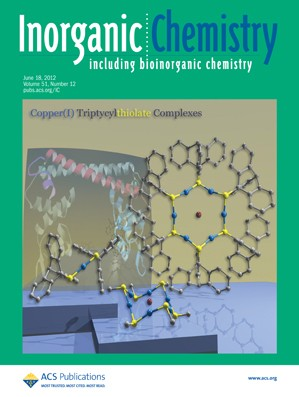 Inorganic Chemistry: Volume 51, Issue 12