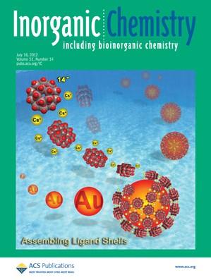 Inorganic Chemistry: Volume 51, Issue 14