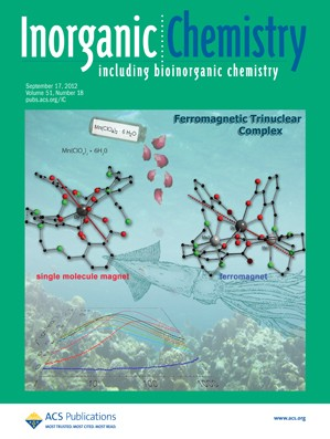 Inorganic Chemistry: Volume 51, Issue 18