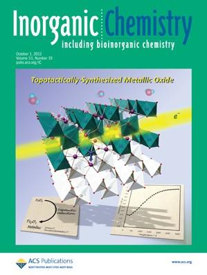 Inorganic Chemistry: Volume 51, Issue 19