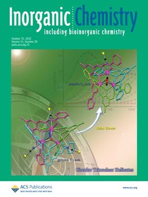Inorganic Chemistry: Volume 51, Issue 20