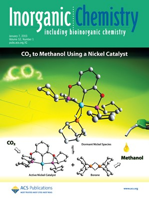 Inorganic Chemistry: Volume 52, Issue 1