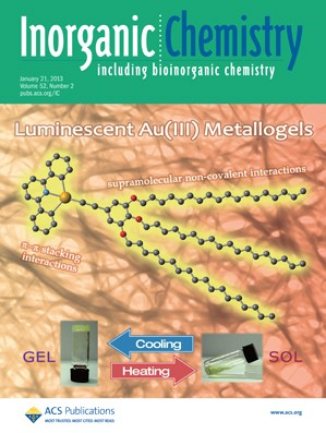 Inorganic Chemistry: Volume 52, Issue 2