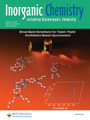 Inorganic Chemistry: Volume 52, Issue 3